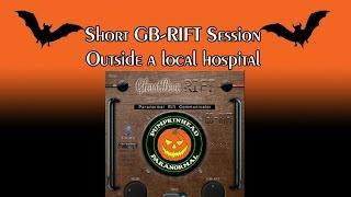 GB-RIFT Ghost Box Session Outside a Local Hospital