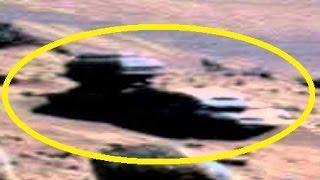 Alien Vehicle & Alien riding Vehicle found on MARS 2015