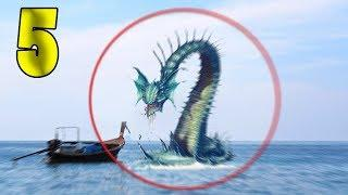 5 ALIVE SEA SERPENTS CAUGHT ON CAMERA & SPOTTED IN REAL LIFE!