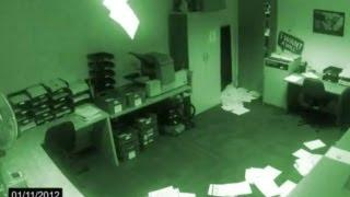 Paranormal activity of a ghost caught on tape | Real ghost videos caught on tape