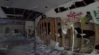 Abandoned Health Care Training Facility ANIMAL SACRIFICE?! Urbex Alone Spirit Box Creepy Places 666