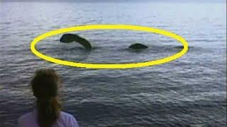Lake Monster of the North - Real Lake Monster Caught on tape