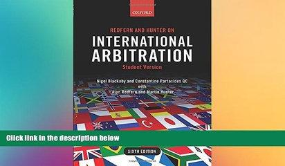 Must Have  Redfern and Hunter on International Arbitration  Premium PDF Online Audiobook