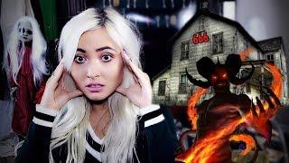 There was a DEMON in the window! The scariest most HAUNTED house story..