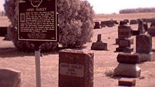 The P SB7 Spirit Box at Annie Oakley's Grave site