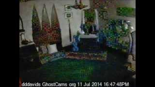 Caught Light Anomaly on Basement Cam. #Ghost, #Spirit ?