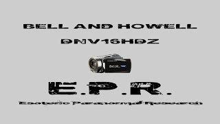 Bell & Howell DNV16HDZ Video Test with Infrared Night Vision