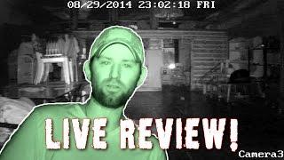 WATCH LIVE Ghost Hunting Video Review!