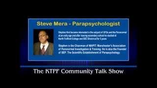 Steve Mera talks about  Don Philips & their work on Phenomena Project (KTPF Radio)