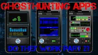 Ghost Hunting Apps Do They Work Pt2 ?