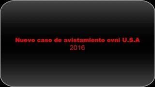 new ufo nuevo ovni filmado 2016