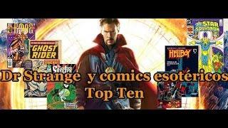 Dr Strange y comics esotericos Top ten