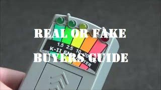 FAKE & REAL K2 KII EMF Meter | GHOST Hunters Guide | How To Spot The REPLICA | PARANORMAL Equipment
