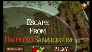 Escape From Haunted Sanatorium Escape 007 Games Walkthrough