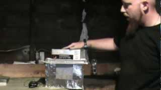 PEP --- Faraday cage build and test SP7 Ghost box within, With Brian & Jesse