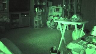 was hearing unexplained footsteps