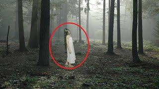 OMG!! Huge Ghost With Long Hair Caught On Camera!! Paranormal Activity