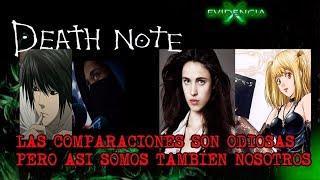 Death Note de Netflix comparativa y Análisis de la cinta