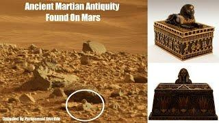 Ancient Martian Antiquity Found On Mars