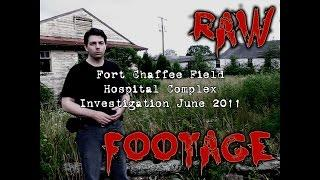 Haunted Fort Chaffee Paranormal Investigation Raw Footage Part 2