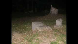 Stepp Cemetery - EVP Session at baby Lester's grave