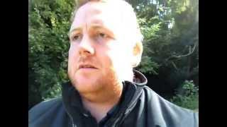 UK-Haunted Filming at Haunted Halkyn Cemetery