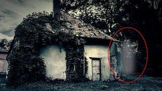 Ghost Shadow Accidentally Caught On Camera From Abandoned House!!  Real Footage