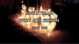 FVP |  Live Stream SPIRIT Box Session Part 1 |  PARANORMAL |