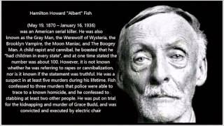 The Horrors of Albert Fish  SERIAL KILLER