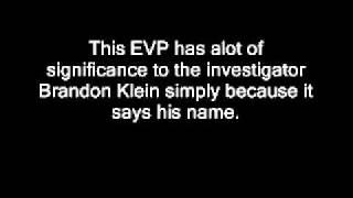 "Lemp Mansion EVP - ""Brandon"""