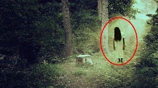 Inexplicable Ghost In Abandoned Ghost In Forest!! Real Ghost Videos