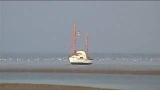 Along the Frisian coast.