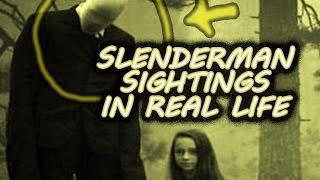 Real Slenderman Videos 2016 FULL COMPILATION | Slenderman In Real Life.