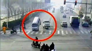"Chinese flying cars - causes ""paranormal"" accident -"
