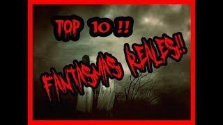 TOP 10 DE FANTASMAS Y ANOMALÍAS CAPTADAS EN VIDEO!!