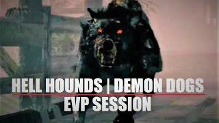 UNEXPLAINED Evp Session | Real DEMON Dogs Sightings ? | Scary & HAUNTED Hoober Stand
