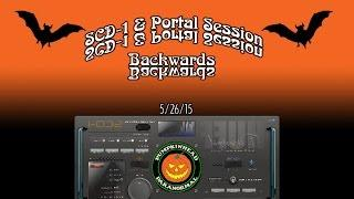 My first SCD-1 Spirit Box & Portal Session with a Backward Effects Pedal