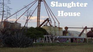Antioch CA Empire Mine Road Slaughter House Day Footage