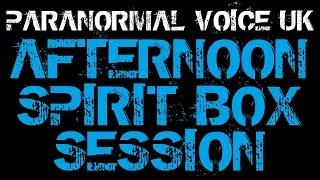 Paranormal Voice | LIVE | SEARCH FOR THE BLACK SHADOW | Spirit Box Session