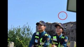 UFO Over South Korea Caught By Professional Photographer On April 2017