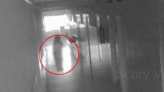 Most Haunted Ghostly Figure Footage !! Real Ghost Scary Video Footage 2018