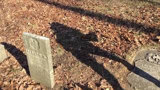 Soop Cemetery, Belleville, MI 8 Dec 2018 EVP session at Elizabeth Soop's Grave