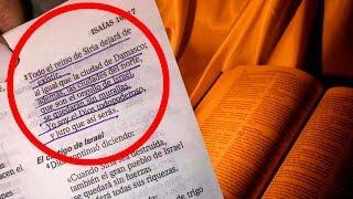 Escalofriante PROFECÍA BÍBLICA Asegura el FIN DE SlRlA
