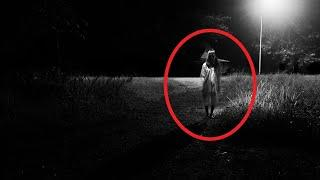 Unnatural Figure Caught On CCTV Camera | Paranormal Activity 2017