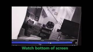 Paranormal activity caught on surveillance camera while we were sleeping