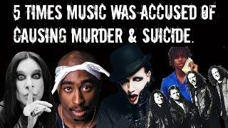 5 Times Music Was Accused of Causing Murder & Suicide!