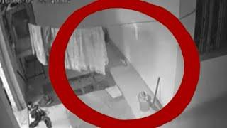 Ghost Caught on Cctv From a Road !! Shocking Haunted Ghostly Figure 2017