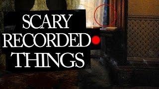 Scary Things Caught On Tape in People's Homes