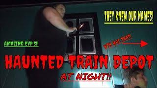 "HAUNTED TRAIN DEPOT & TRAIL ""CREEPY EXPERIENCE""!!"