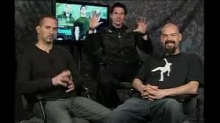 Interview Paranormal Investigators from Ghost Adventures - Gac Media Tour - WGNTV Chicago